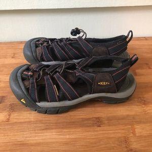 Keen Newport Hiking Sport Sandals Shoes 8.5 Blue